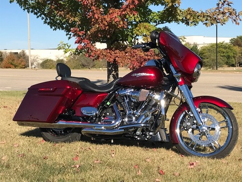 2017 Milwaukee 8 Street Glide